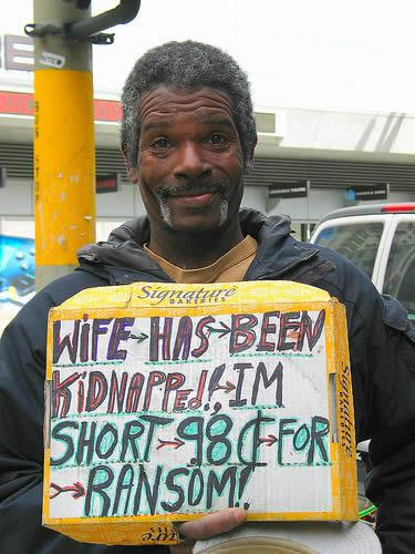 Funniest homeless sign 7