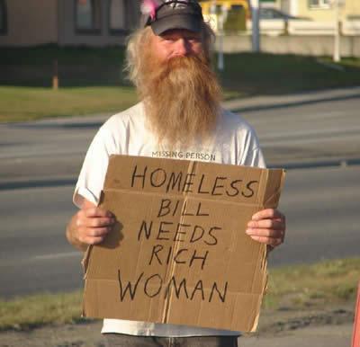 Funniest homeless sign 9