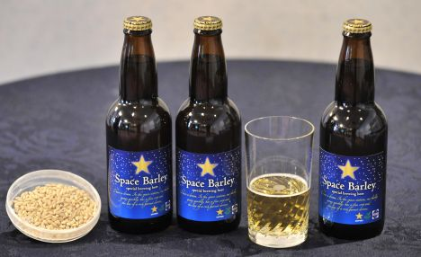 JAPAN-RUSSIA-SPACE-BEER
