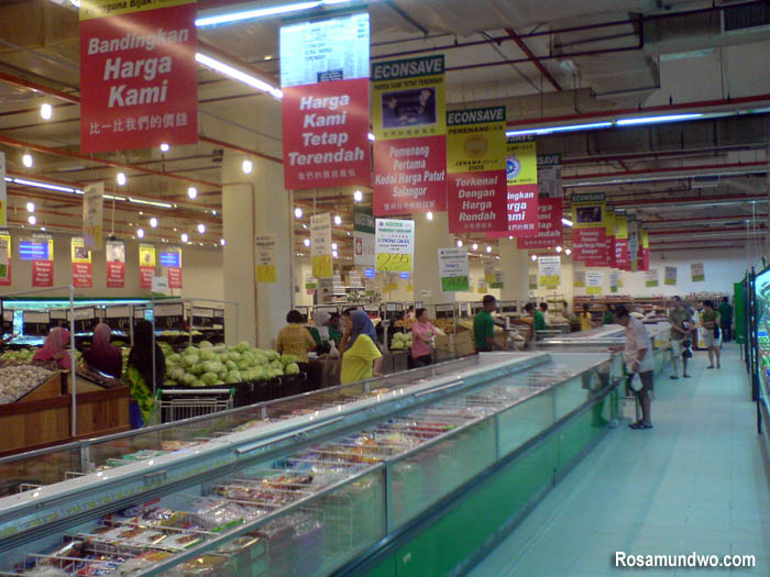 KL Festival City Mall Supermarket Econsave