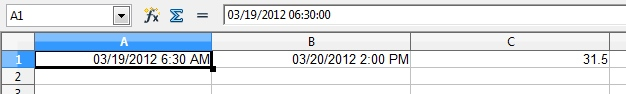 excel date time difference